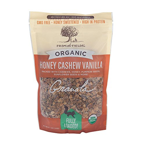 From The Fields Honey Cashew Vanilla Cereal, 12 Ounce