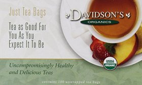Davidson's Tea Spearmint Orange Spice, 100-Count Tea Bags