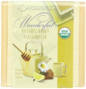 Davidson's Tea Honey Sampler Tea Chest, (Pack of 6)