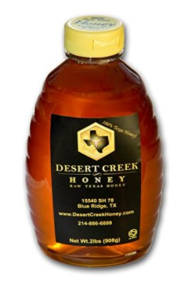 2 lbs (32 fl oz) Raw, Unfiltered Texas Honey