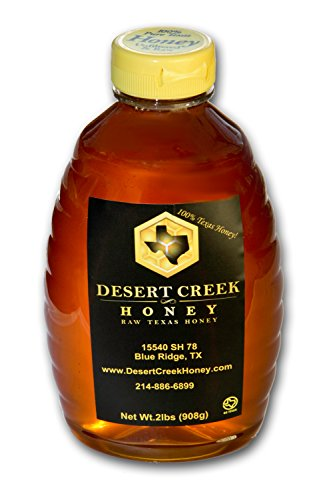 2 lbs (32 fl oz) Raw, Unfiltered Texas Honey