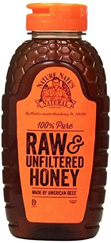 Nature Nate's Raw Unfiltered Honey, 44 Ounce