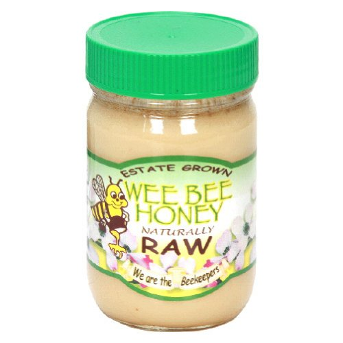Wee Bee Honey Raw 16-Ounce -Pack of 12