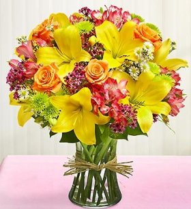 1-800-Flowers – Vase Arrangement for Sympathy – Large