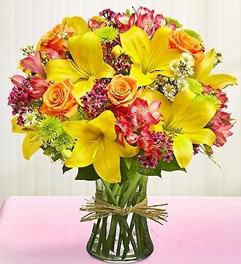 1-800-Flowers – Vase Arrangement for Sympathy – Large