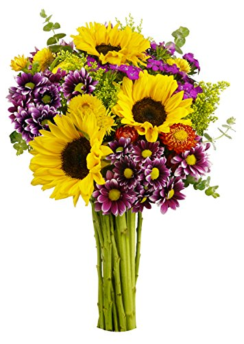 Flowering Fields Bouquet, No Vase
