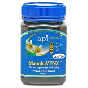 Manuka Active Honey Bee Venom – VENZ 25 – Extra large size jar 1.1lb (500g)