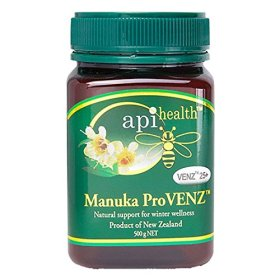 Manuka Active Honey Bee Venom – Propolis VENZ 25 – 1.1lb (500g) Jar