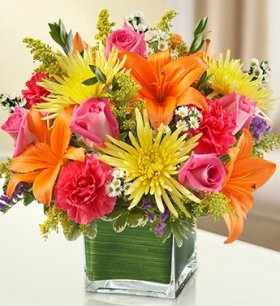 1-800-Flowers – Healing Tears – Multicolor Bright – Large