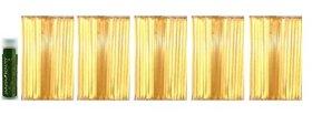 Nature's Kick Original Honeystix Color Free Flavors 100 Count Variety Pack – 25 Each Flavor Honey Sticks: Cinnamon, Lemon, Mint & Orange with a Jarosa Bee Organic Peppermint Lip Balm