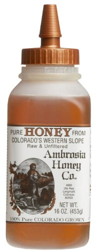 Madhava – Honey Ambrosia Colorado Raw, 16 oz honey