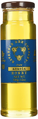 Savannah Bee Company Acacia Honey (12 Ounce Tower Jar)