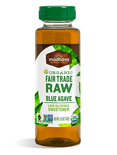 Madhava Organic Raw Agave, 11.75-Ounce (Pack of 6)
