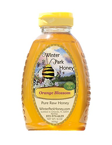 Orange Blossom Honey 2lb (Pure Natural Raw Honey) Pack of 2x16oz