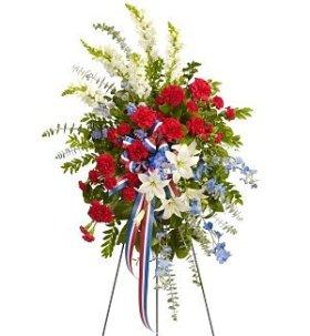 Funeral Flowers – Scared Duty Spray