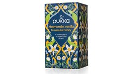 Pukka Herbal Teas -Chamomile, Vanilla & Manuka Honey 20 Bags