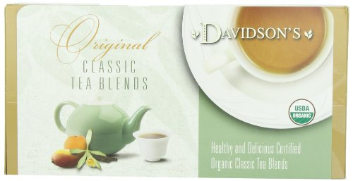 Davidson's Tea Single Serve Cinnamon Vanilla, 100-Count Tea Bags