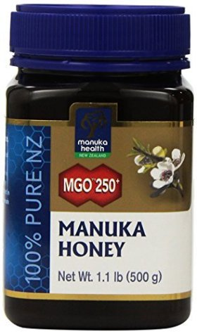 Manuka Health MGO 250+ Manuka Honey (15+), 500gm – 100% Pure New Zealand Honey