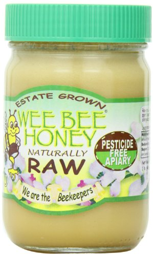 Wee Bee Naturally Raw Honey — 1 Lb Each (Pack of 2)