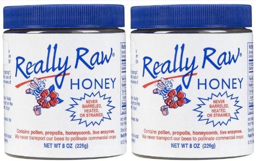 REALLY RAW Raw Honey – 8 oz – 2 pk