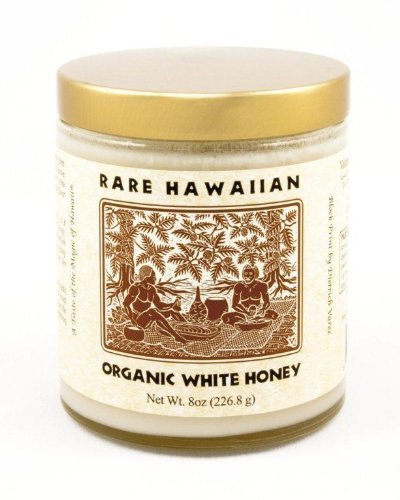 Rare Hawaiian Organic Kiawe Honey