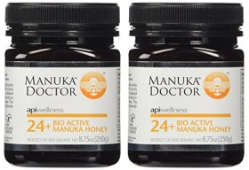 Manuka Doctor Bio Active Honey, 24 Plus, 8.75 Ounce (2 Pack)