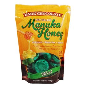 Pacific Resources – Manuka Honey Chocolate Mints, Gluten & Dairy Free