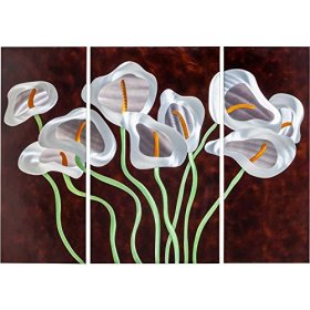 3-Pc Calla Lilies Wall Art