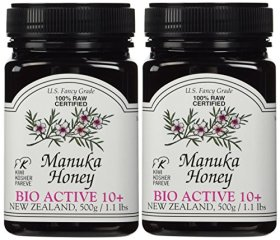 Manuka Honey Bio Active 10+, 1.1 Pound Jar (Package May Vary) (2.2 LB)
