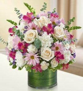 1-800-Flowers – Cherished Memories – Lavender and White – Medium