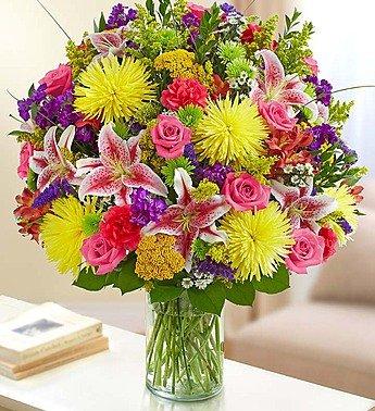 1-800-Flowers – Sincerest Sorrow Bright Arrangement – Large