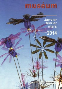 Flowers 2.0 en couverture du magazine Muséum