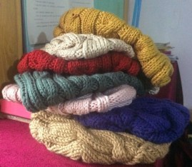 Slouchy hats in many colors