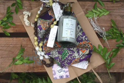 Floral & Relax Gift Bag