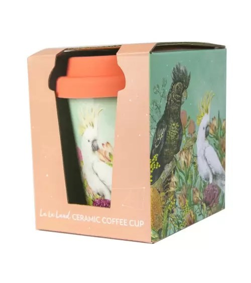 LaLaLand Cockatoos Cup Packaged