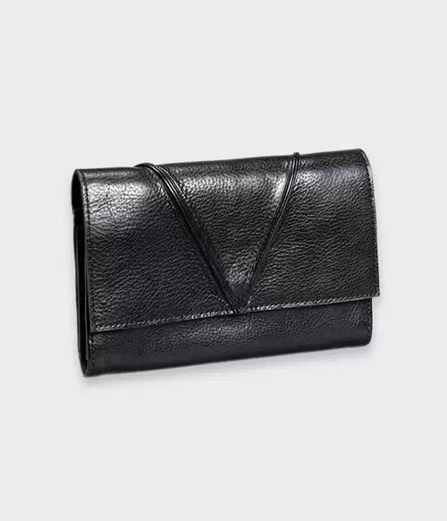 Lennik Wallet Black