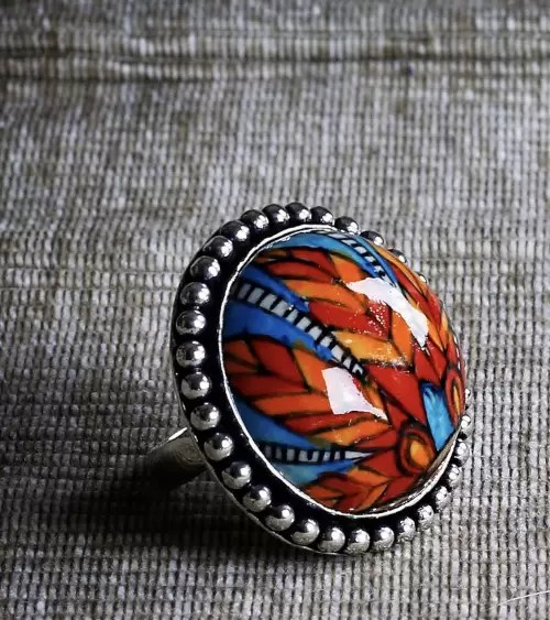 Finders & Makers Feathers Ring