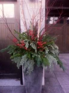 Flowers Talk Outdoor Urn 3