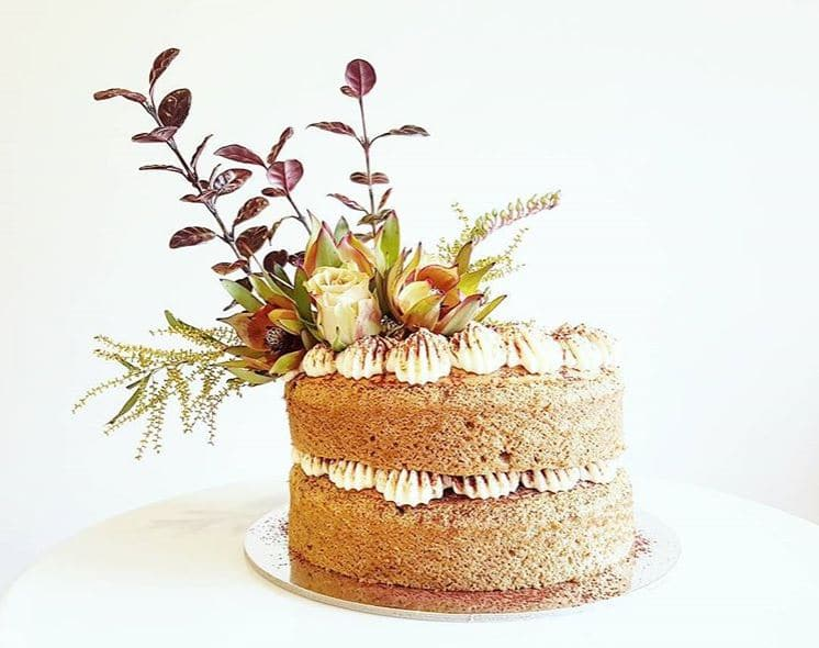 Our Work - our flowers at this baker