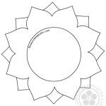 Prairie Sunflower pattern