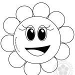 Pretty Cartoon Flower