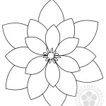 Geometric Flower shape