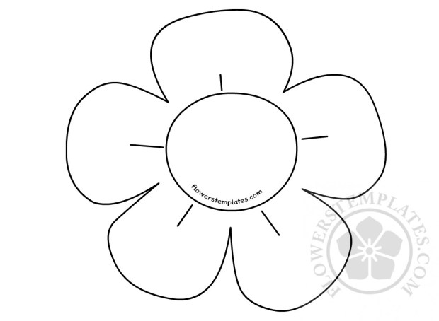 Simple Flower Drawings For Kids