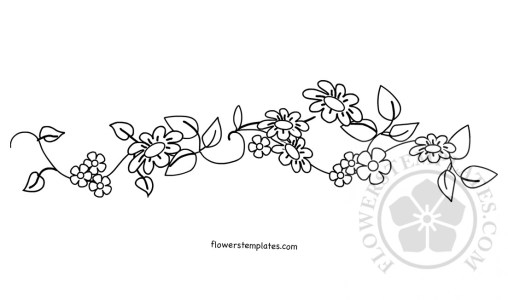 Embroidery Patterns Flowers Templates