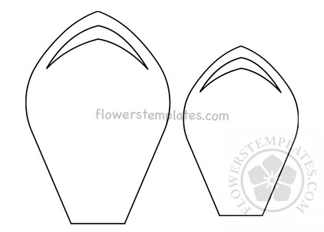 picture about Sunflower Petal Template Printable identify Bouquets Templates No cost templates, styles, routine and