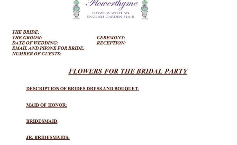 wedding-flowers-worksheet