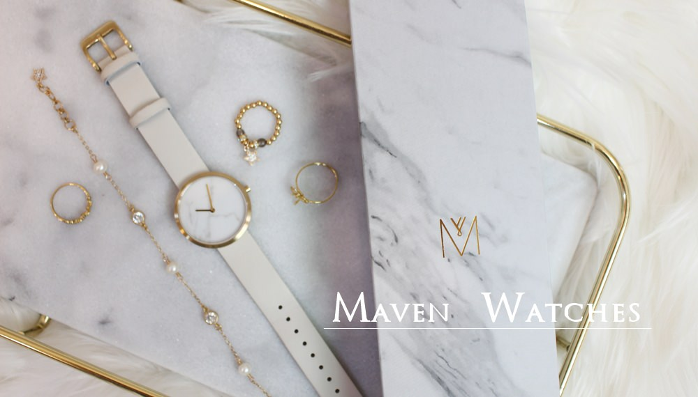 【穿搭】MAVEN WATCHES-大理石控會狂愛的極簡文青風質感大理石手錶