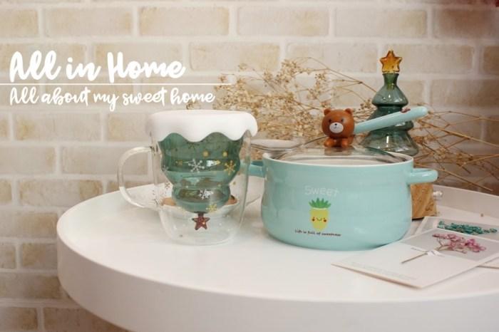 【家居】聖誕樹雪花馬克杯&追劇專用泡麵碗~一些讓生活療癒的可愛小物@