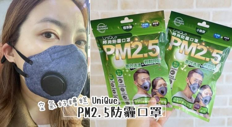 【空污對策】UniQue優淨 PM2.5防霾口罩~大人的便宜款空氣清淨機~