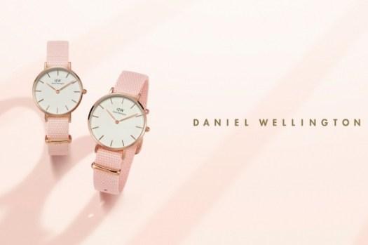 【DW穿搭】粉紅控尖叫!DW終於出了櫻花粉紅色手錶Petite Rosewater 28mm開箱!(85折折扣碼flowery)